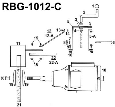 Parts For Rbg 1012c